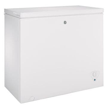 GE Appliances 7.0 Cu. Ft. Manual Defrost Chest Freezer in White, , large