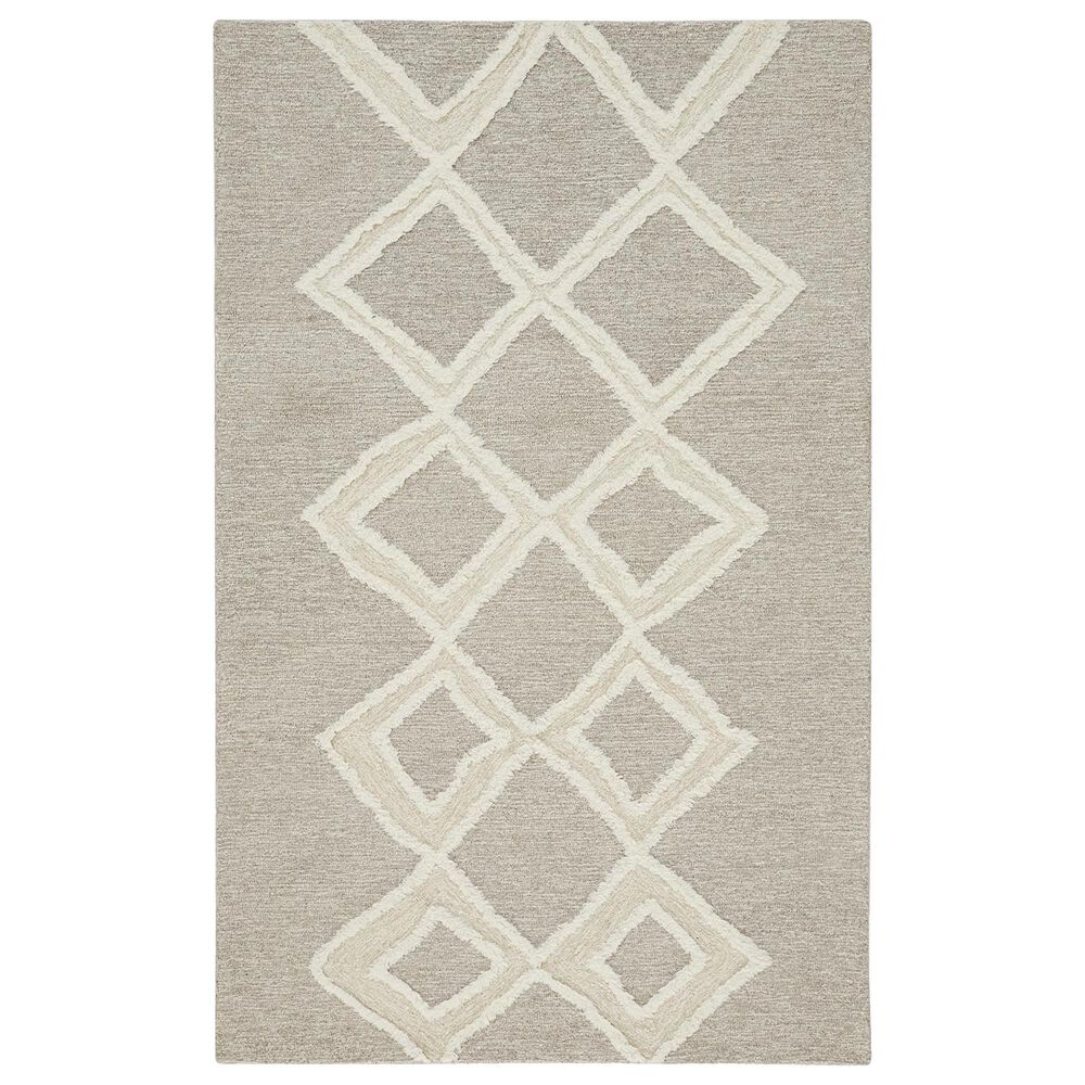Feizy Rugs Anica 8009F 5' x 8' Brown Area Rug, , large