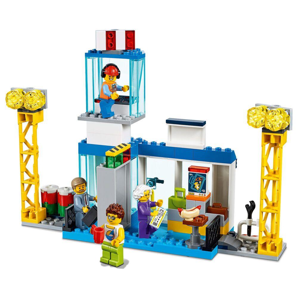 LEGO City Central Airport Building Set, , large