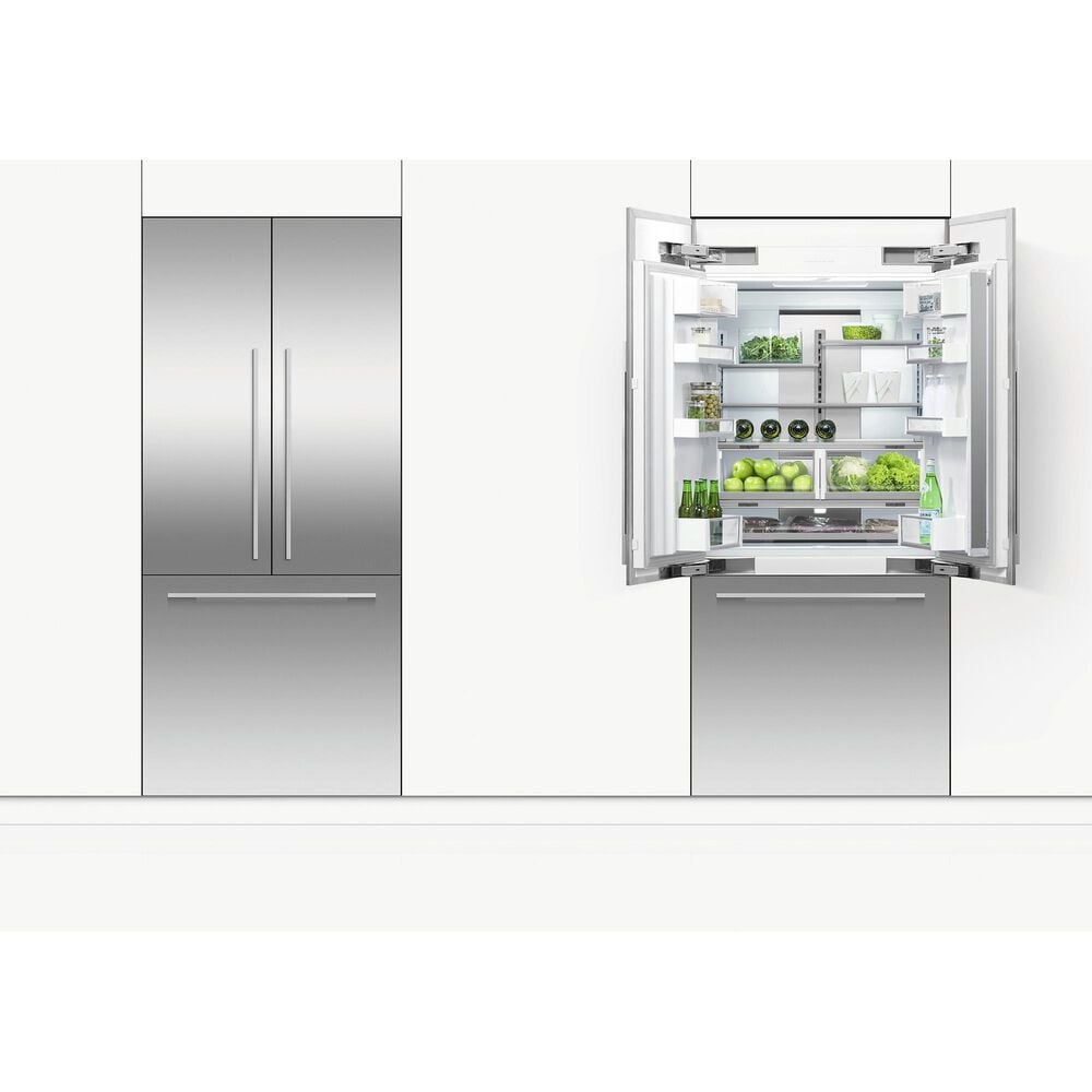 "Fisher and Paykel 36"" Integrated French Door Panel with 84"" High in Stainless Steel, , large"