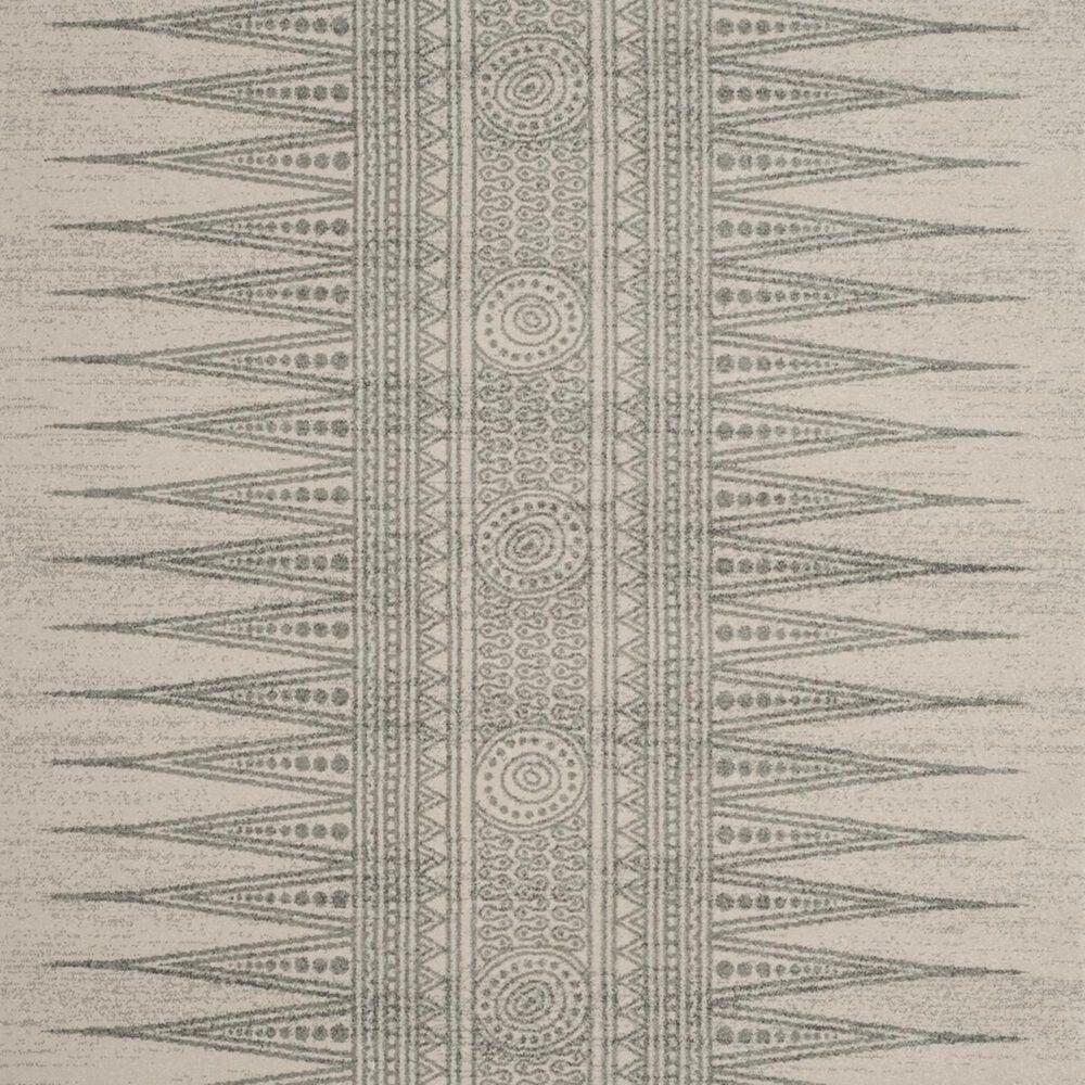 Safavieh Evoke EVK226Z-3 3' x 5' Ivory/Silver Area Rug, , large