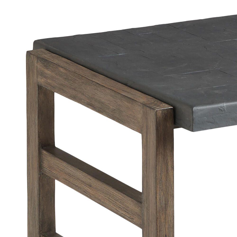 Lexington Furniture La Jolla Square End Table in Gray, , large