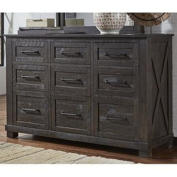 A-America Sun Valley 9 Drawer Dresser in Charcoal, , large