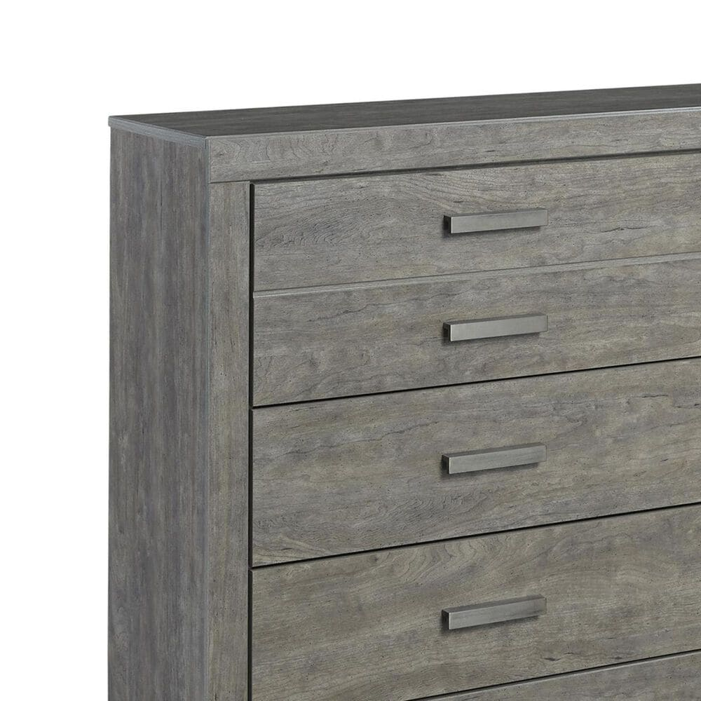 Signature Design by Ashley Culverbach 6 Drawer Dresser and Mirror in Driftwood Gray, , large