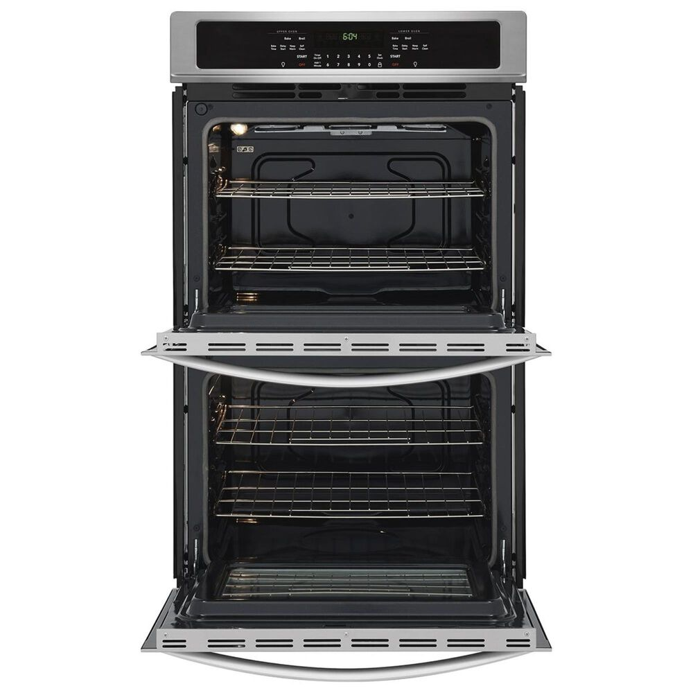 """Frigidaire 2-Piece Kitchen Package with 30"""" Single Wall Oven in Stainless Steel and Black Induction Cooktop, , large"""