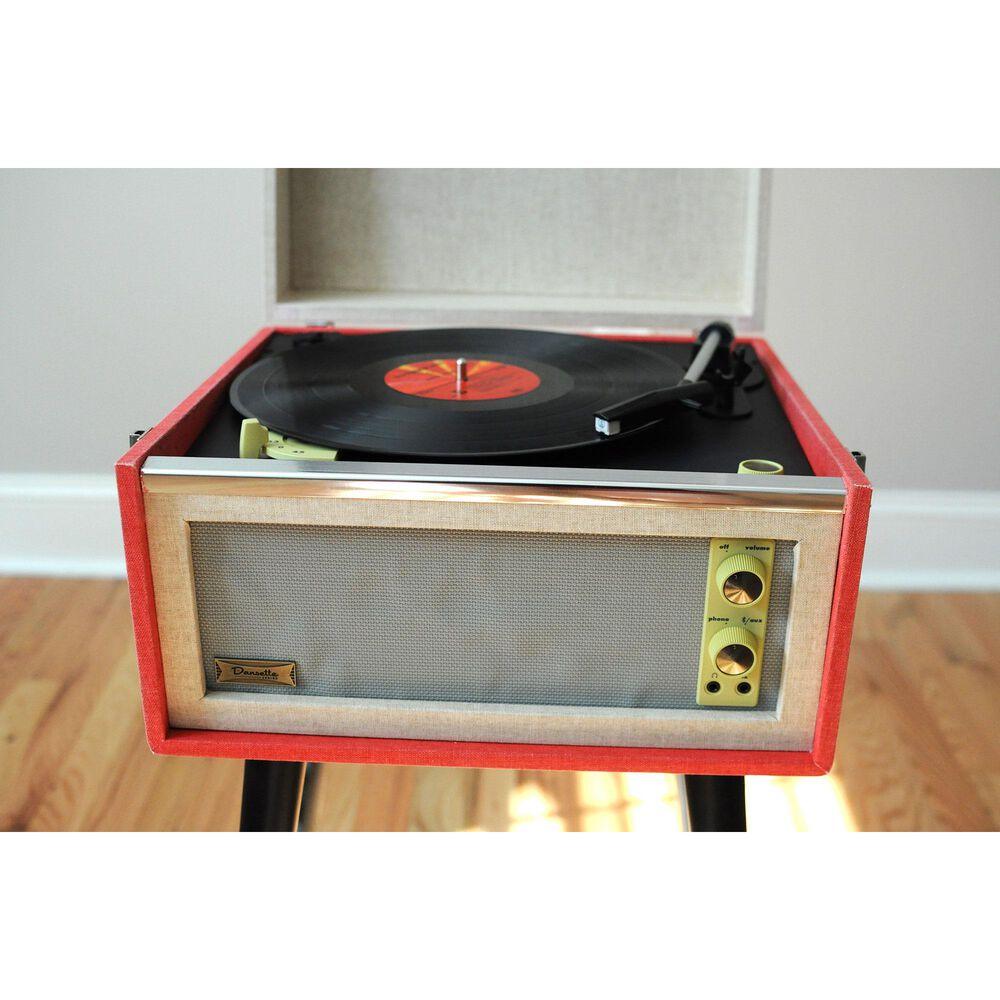 Crosley Dansette Turntable in Red, , large