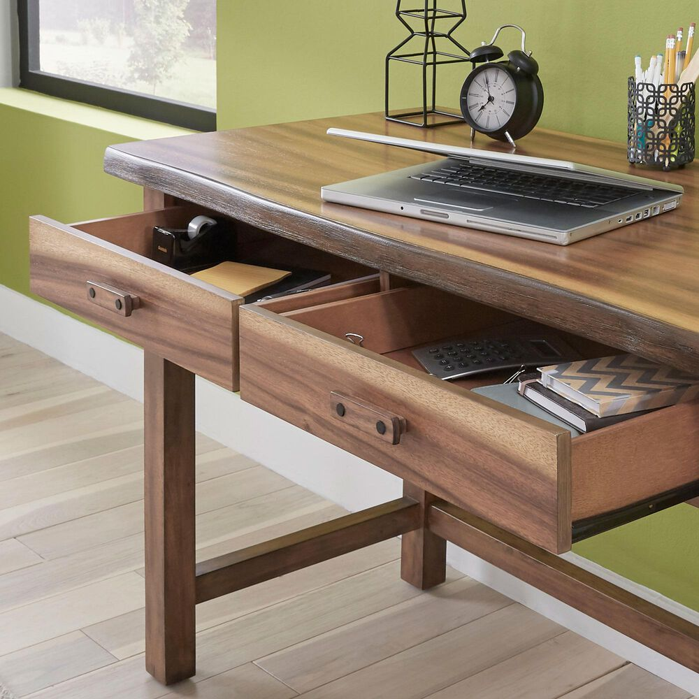 Home Styles Forest Retreat Desk in Brown, , large