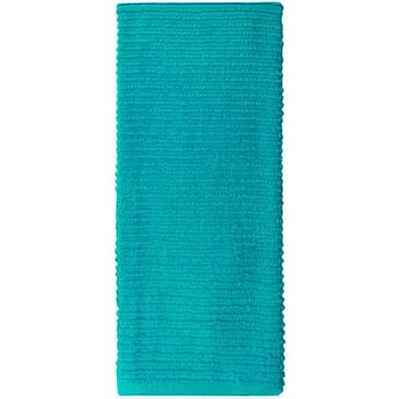 Mukitchen Rigged Cotton Towel in Aquamarine, , large