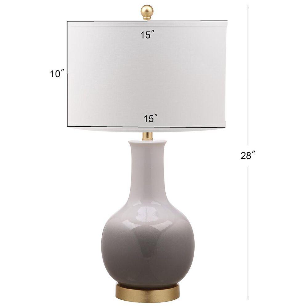 Safavieh Alfio Table Lamp in Grey/White, , large
