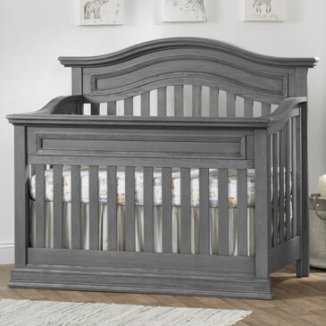 Oxford Baby Glenbrook 4-in-1 Convertible Crib in Graphite Gray, , large