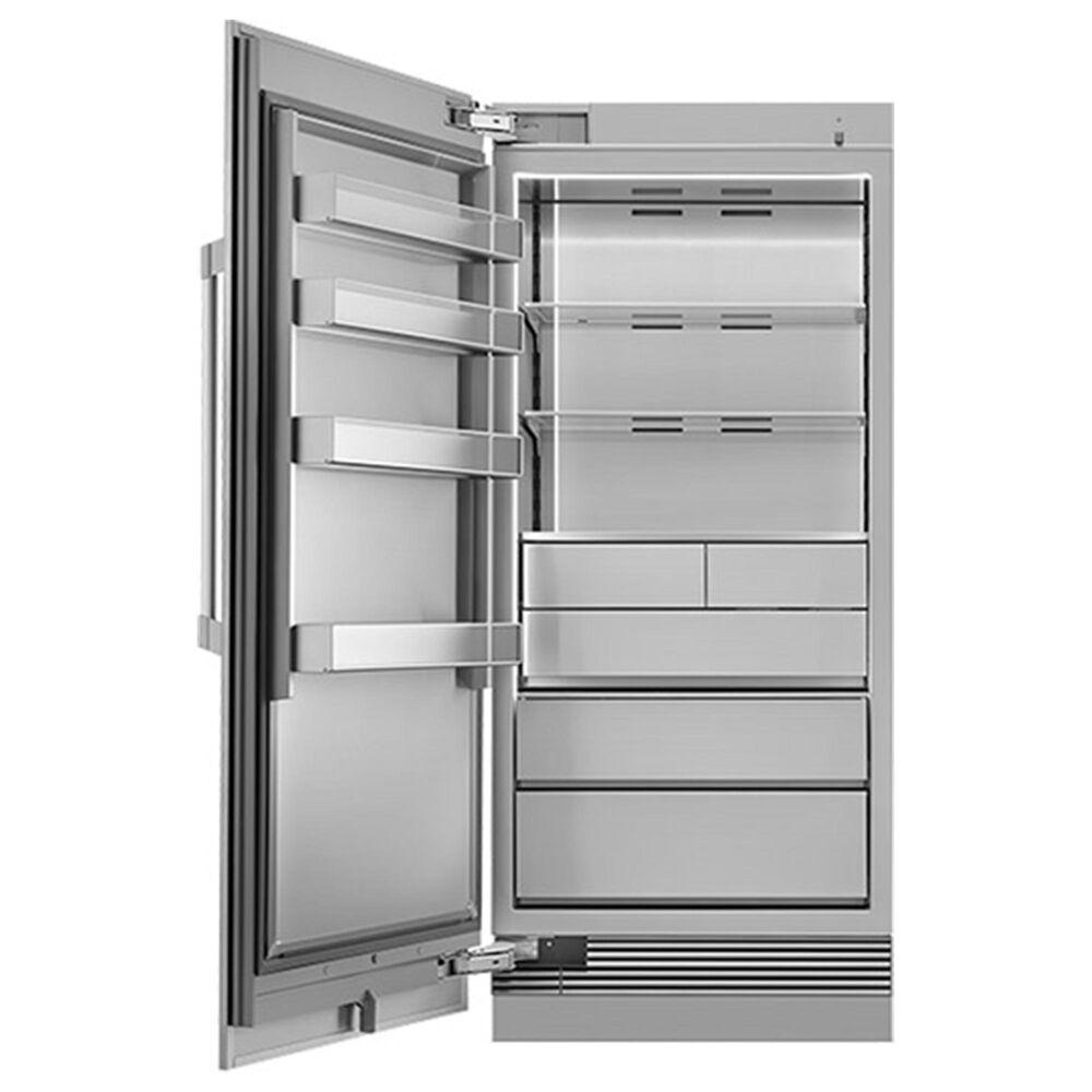 """Dacor Heritage 36"""" Column Freezer Left Door Panel in Silver Stainless Steel, , large"""