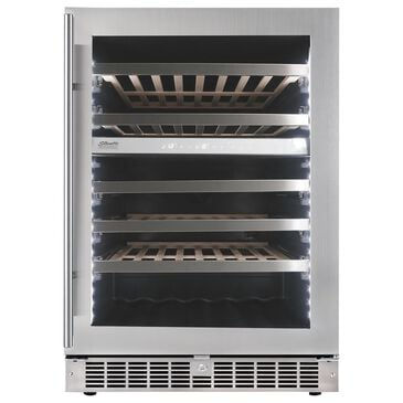 Danby Silhouette Sonoma 5.3 Cu. Ft. Built-In Wine Cooler in Stainless Steel, , large
