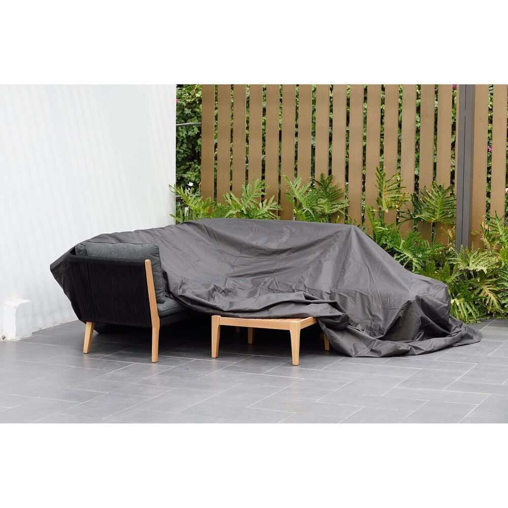 International Home Miami Amazonia Square Patio Dining Cover in Blue, , large