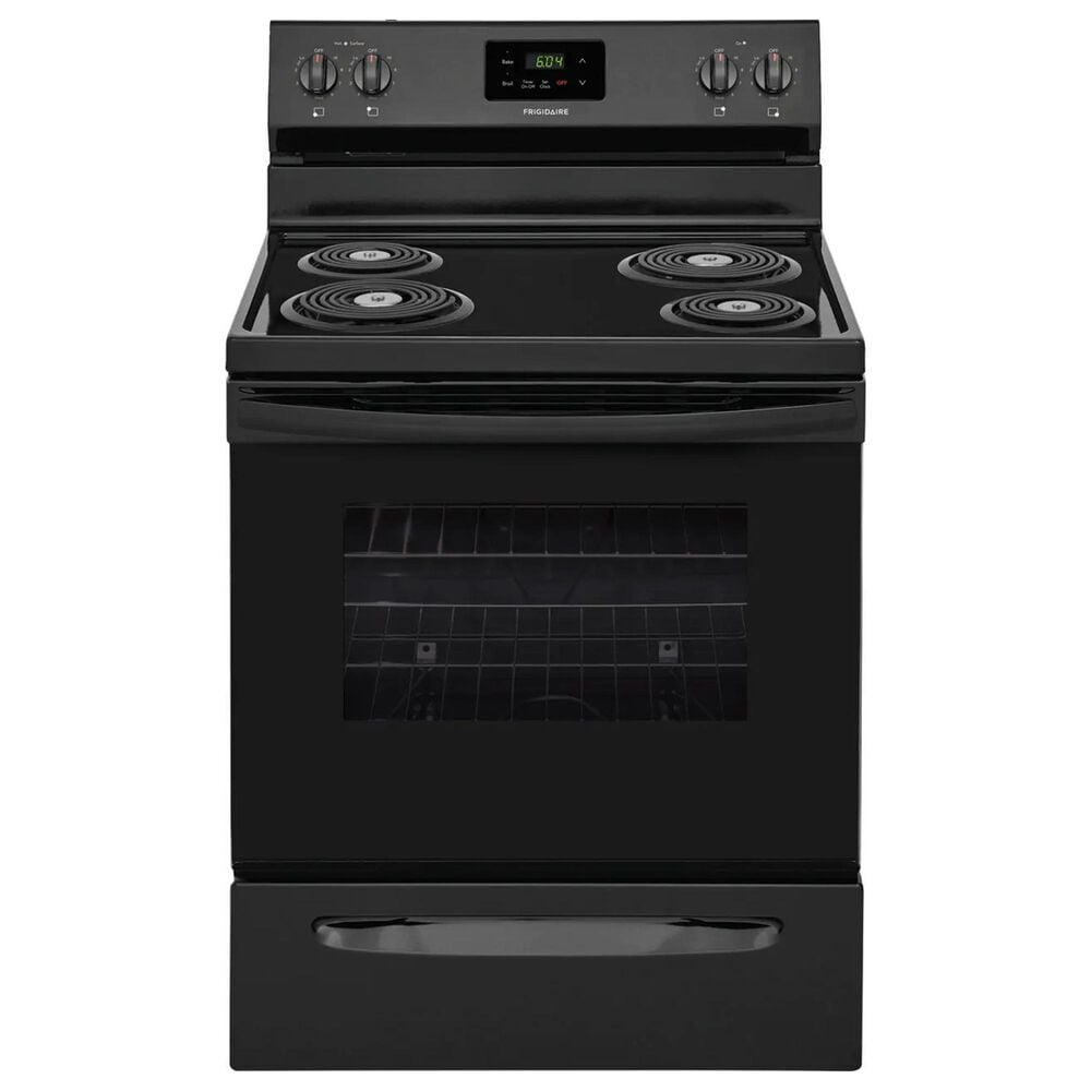 Frigidaire 30'' Electric Range with Coil-Top in Black, , large