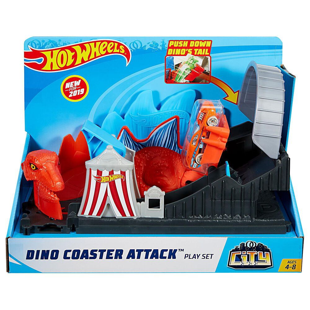 Mattel City Dino Coaster Attack Playset, , large