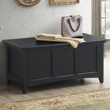 Carolina Chair and Table Aura Storage Chest in Antique Black, , large