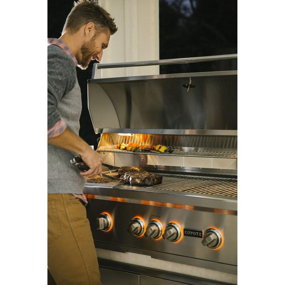 """Coyote Outdoor 36"""" S-Series Grill with Infinity Burners in Stainless Steel, , large"""