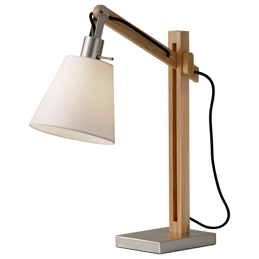 Adesso Walden Table Lamp in Natural, , large