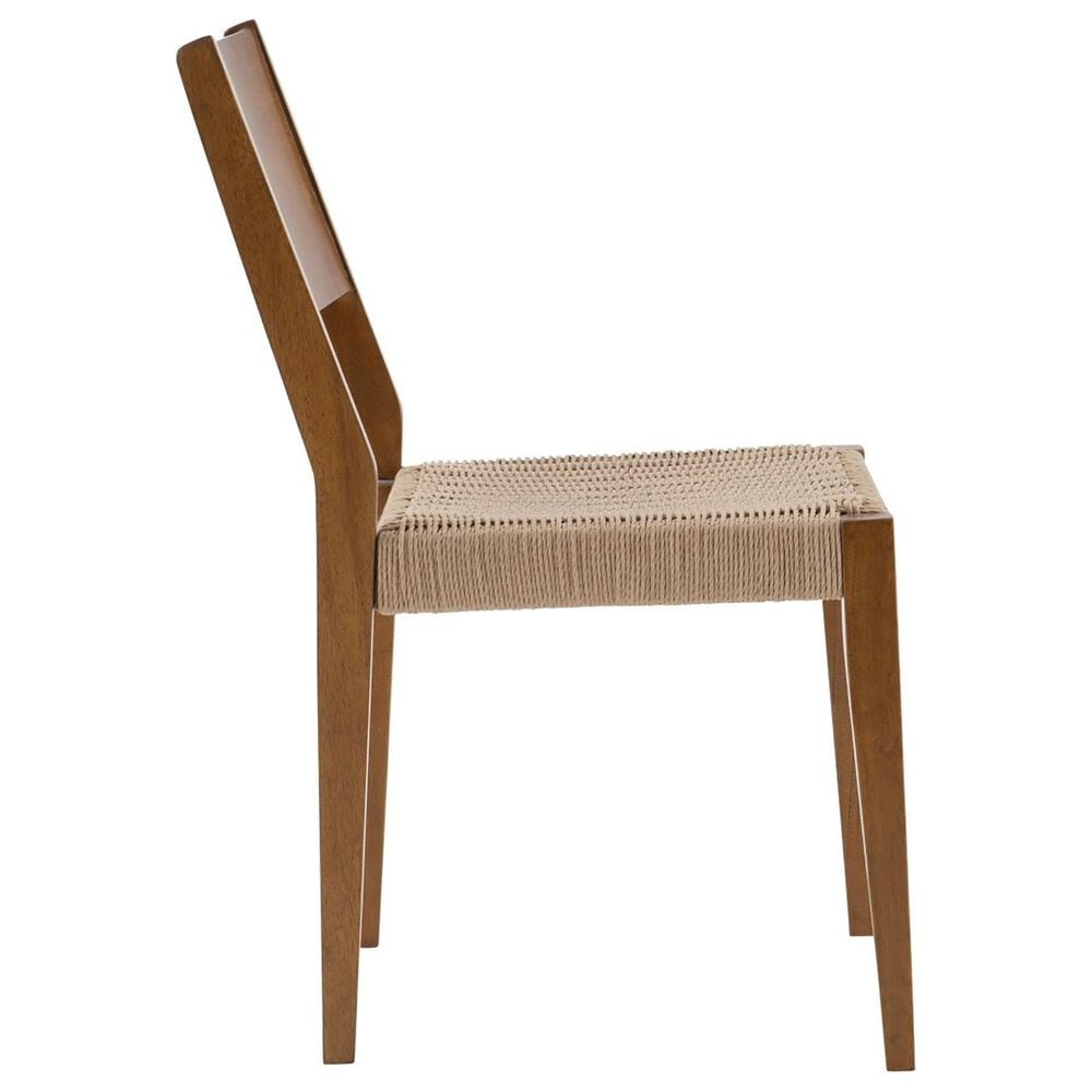Parkerville Furniture Line Urban Boho Dining Chair in Warm Brown - Set of 2, , large
