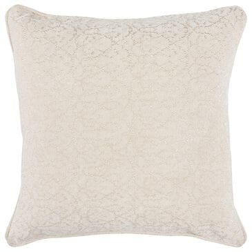 """Classic Concepts Eminence March 22"""" x 22"""" Pillow in Ivory, , large"""