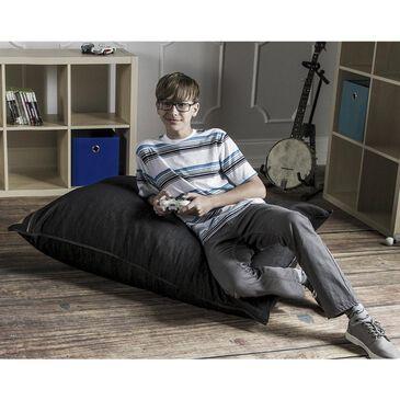 Jaxx 3.5' Pillow Kids Bean Bag in Dark Denim, , large