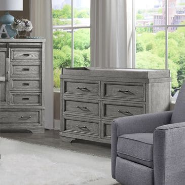 Eastern Shore Foundry 6 Drawer Dresser in Brushed Pewter, , large