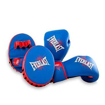 Everlast Prospect Youth Glove & Mitt Kit, , large
