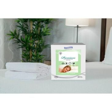 Protect A Bed Premium Mattress Protector, Cotton Terry Fitted Sheet Style, Queen, , large