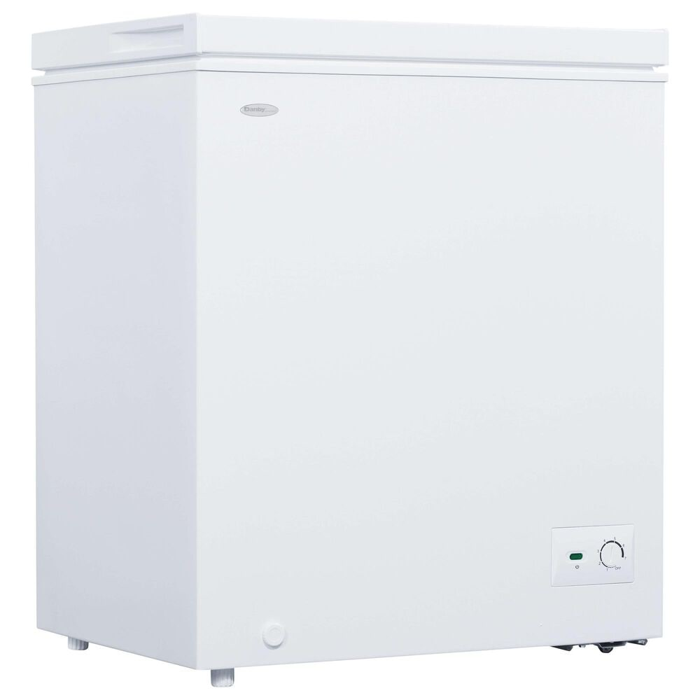 Danby Diplomat 5.0 Cu. Ft. Chest Freezer in White, , large