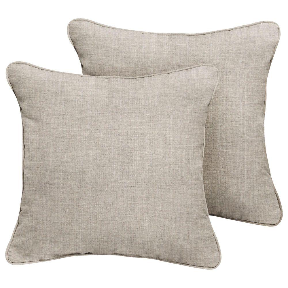 "Sorra Home Sunbrella 20"" Pillow in Canvas Granite (Set of 2), , large"