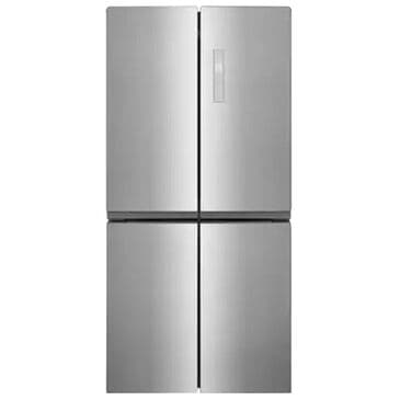 Frigidaire 17.4 Cu. Ft. 4 Door Refrigerator in Brushed Steel , , large