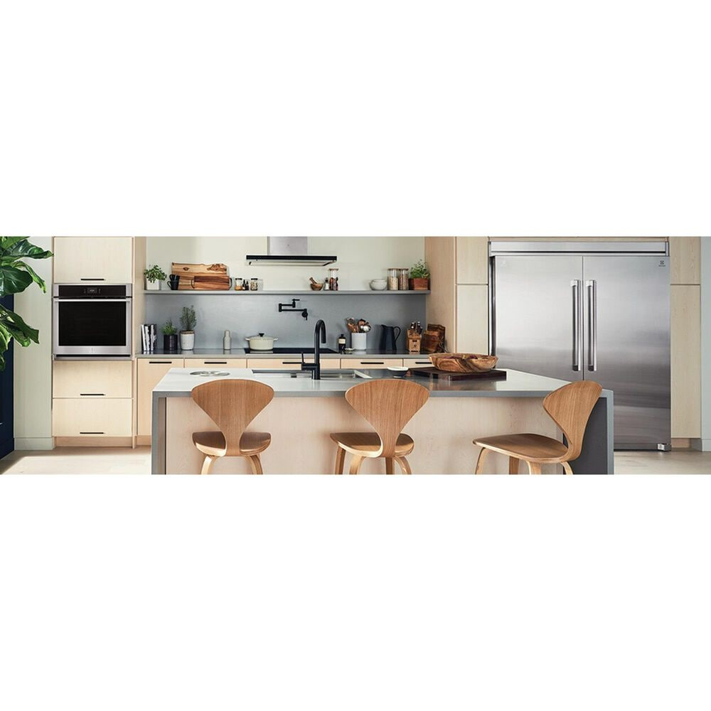 Electrolux 30'' Electric Single Wall Oven with Air Sous Vide in Stainless Steel, , large