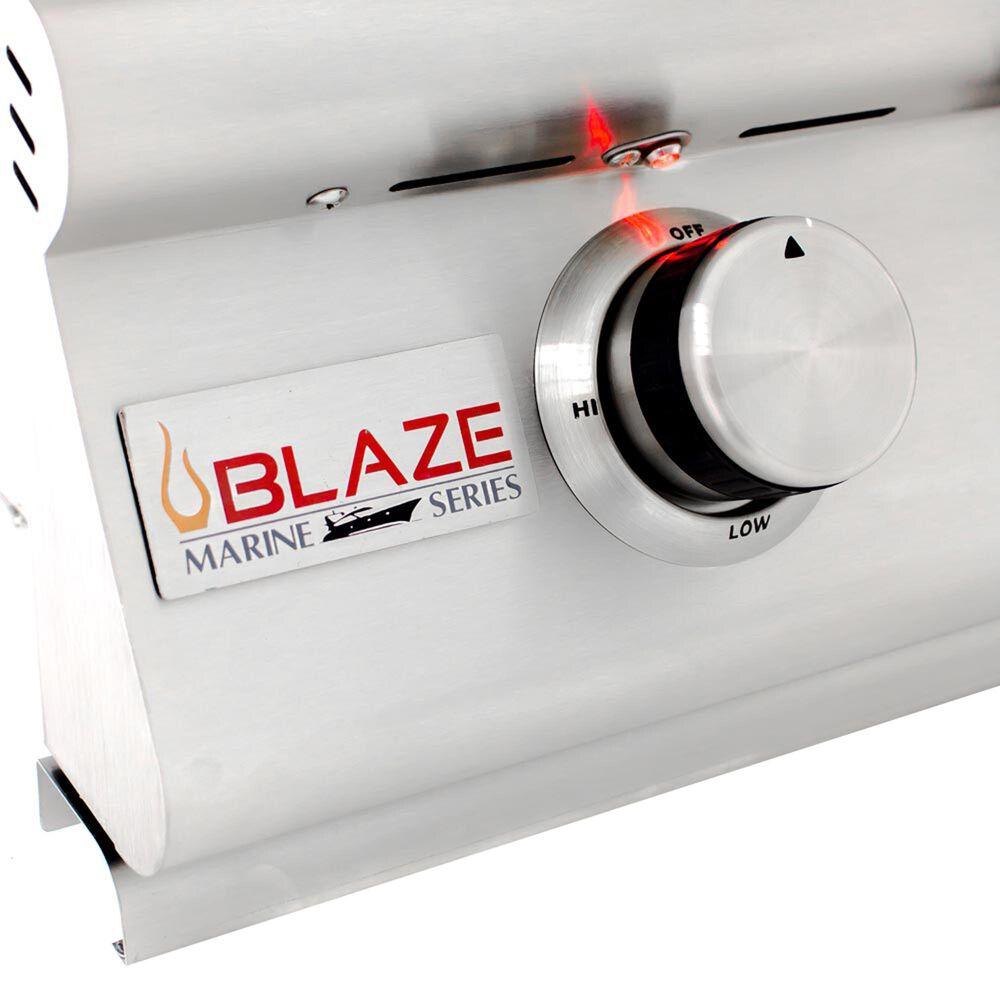 "Blaze 32"" Marine Grade Liquid Propane Gas Grill in Stainless Steel, , large"