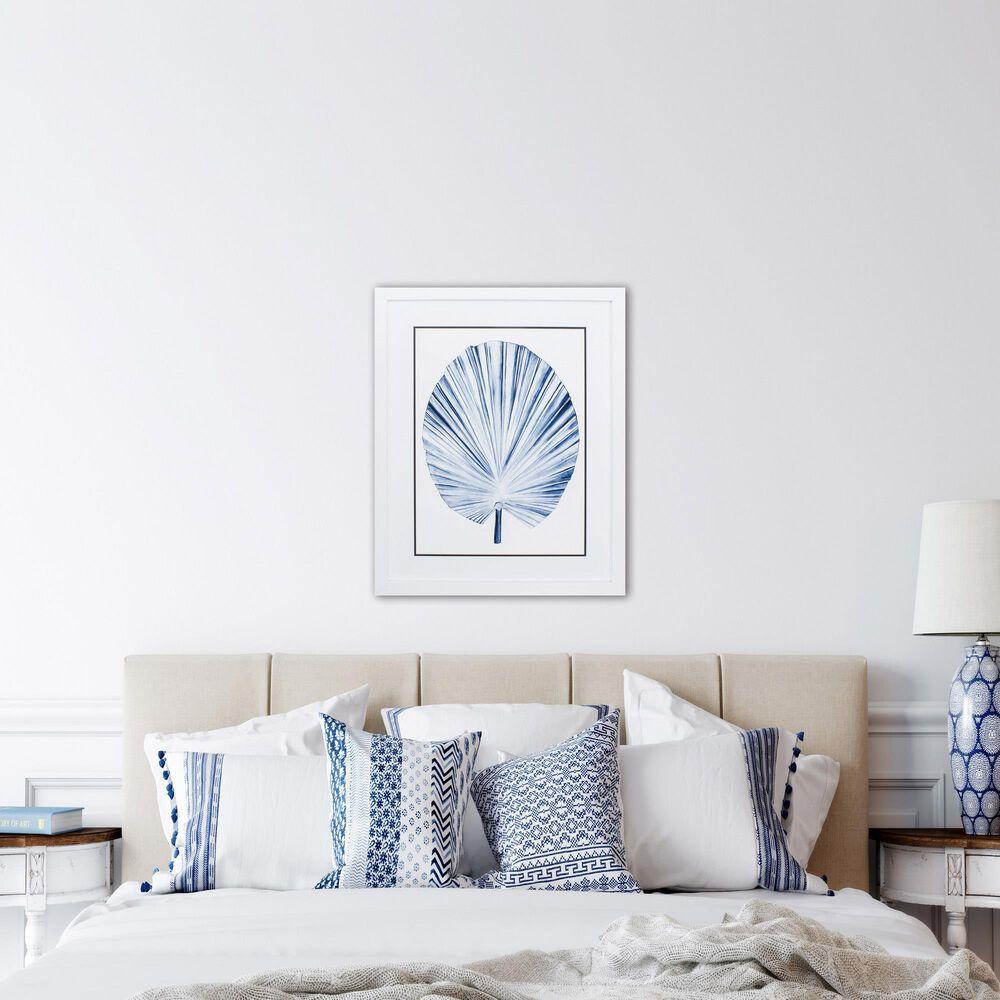 "Propac ""Indigo Tropical Leaf IV"" Wall Art in Blue, , large"
