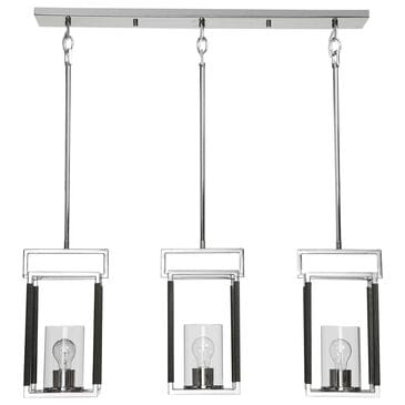 Uttermost Newburgh 3-Light Linear Pendant, , large