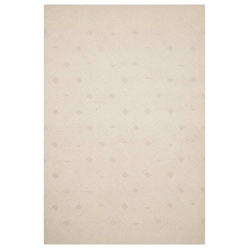 "ED Ellen DeGeneres Crafted by Loloi Kopa 11'6"" x 15' Cream and Ivory Area Rug, , large"
