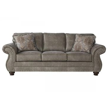 Hughes Furniture Stationary Sofa in Goliath Mica, , large