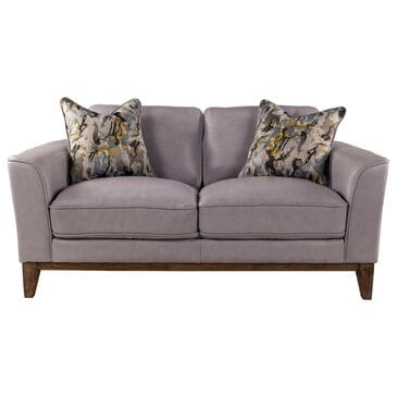 Sienna Designs Leather Loveseat in Cesena Ice, , large