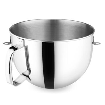 KitchenAid 6-Quart Stainless Steel Stand Mixing Bowl with Handle, , large