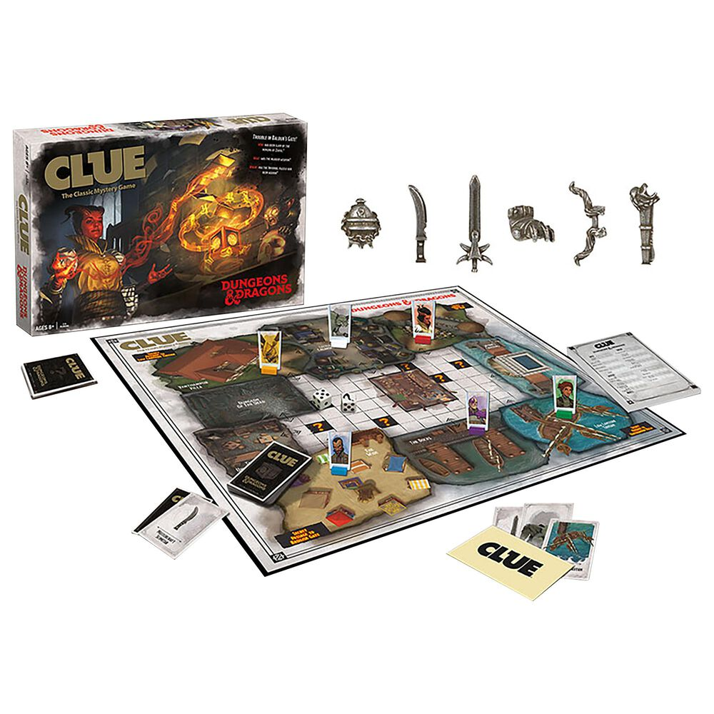 USAopoly Clue Dungeons and Dragons, , large