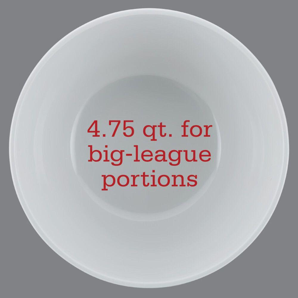 Nebraska Cornhuskers 4.75-Quart Big Party Bowl in White, , large