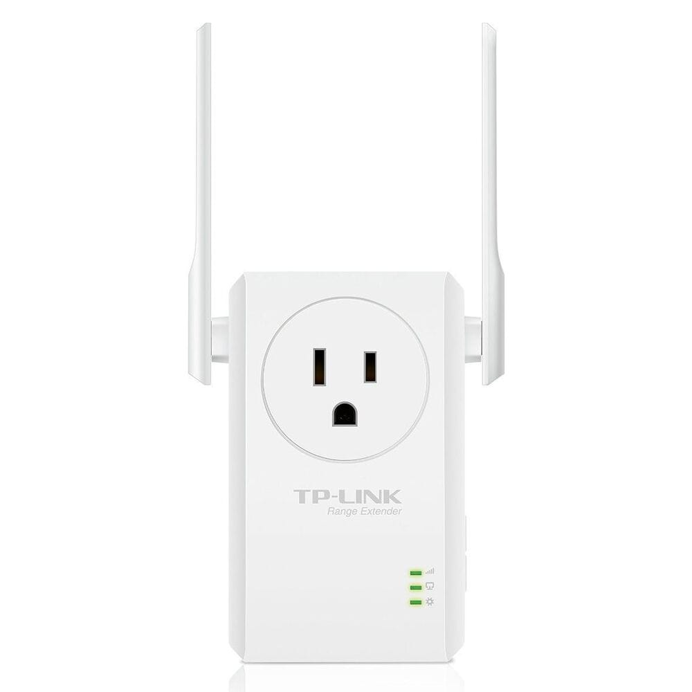 TP-LINK 300Mbps Wi-Fi Range Extender with AC Passthrough , , large