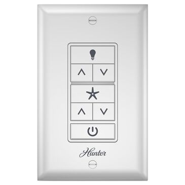 Hunter Universal Ceiling Fan Wall Control in White, , large