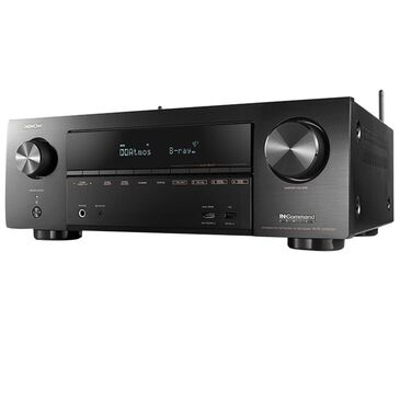 Denon 7.2 Channel 4K Ultra HD AV Receiver in Black, , large