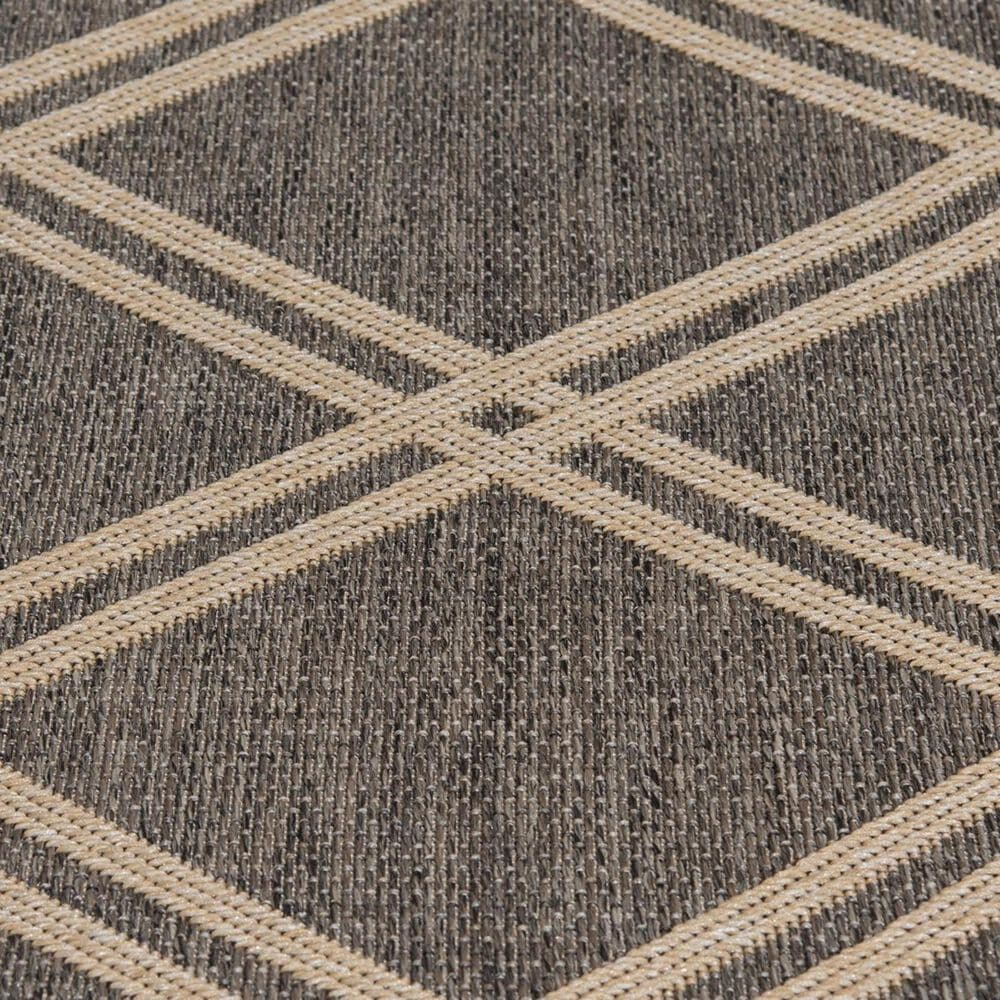 """Trisha Yearwood Rug Collection Gather Minot TYWD 5'3"""" x 7'7"""" Pebble and Natural Outdoor Rug, , large"""