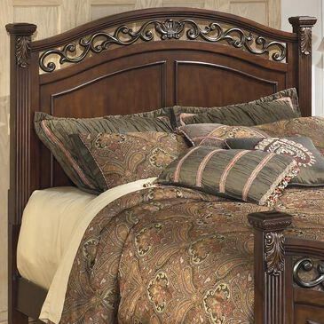 Signature Design by Ashley Leahlyn Queen Panel Headboard in Warm Brown, , large