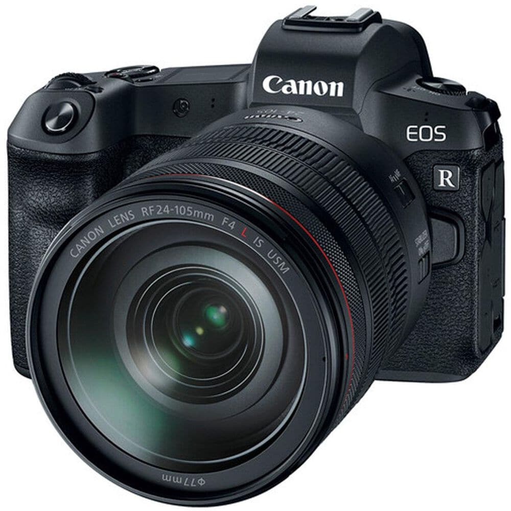 Canon EOS R Mirrorless Camera with RF 24-105mm f/4LIS USM Lens, , large