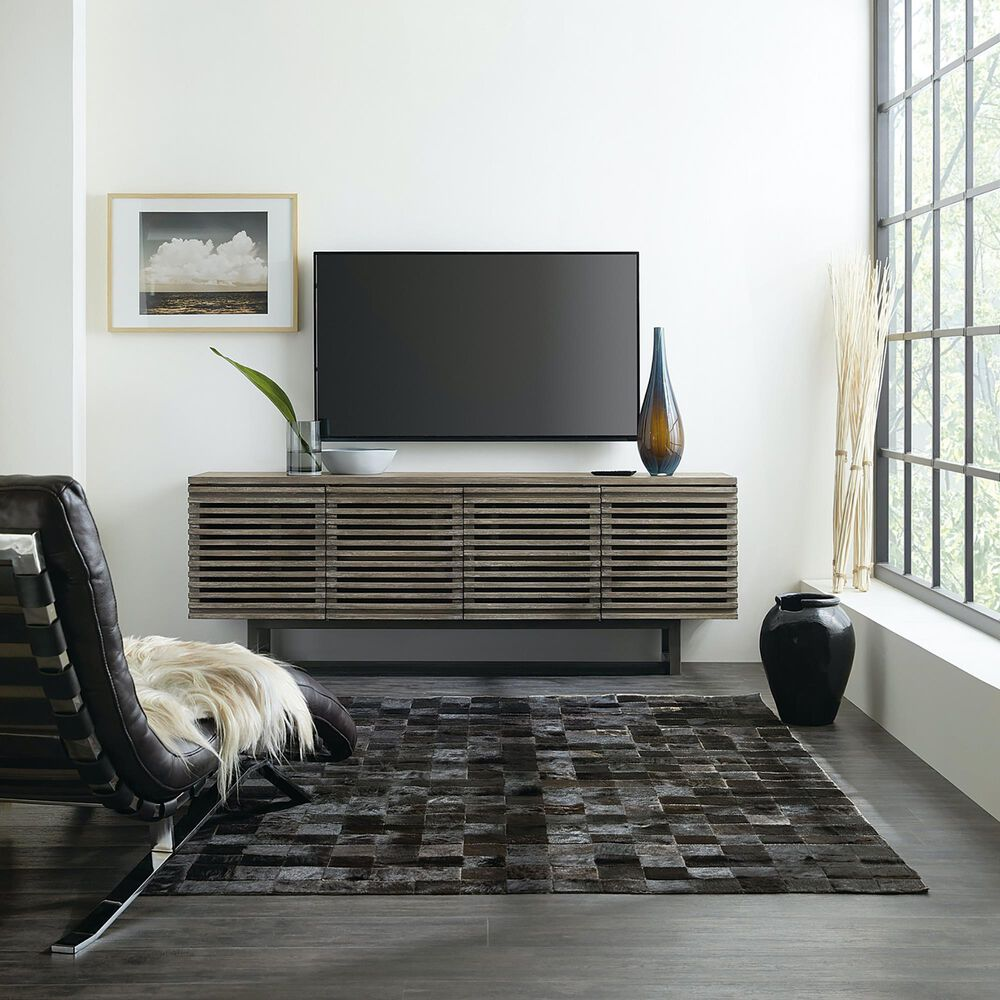 """Hooker Furniture Annex 78"""" Entertainment Console in Gray Oak, , large"""