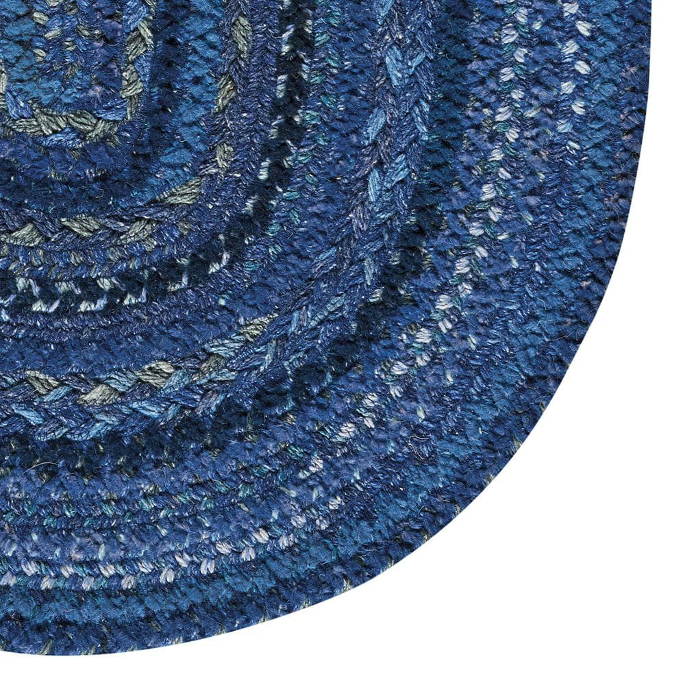"""Capel Bayview 0036-470 2'3"""" x 4' Oval Twilight Blue Area Rug, , large"""