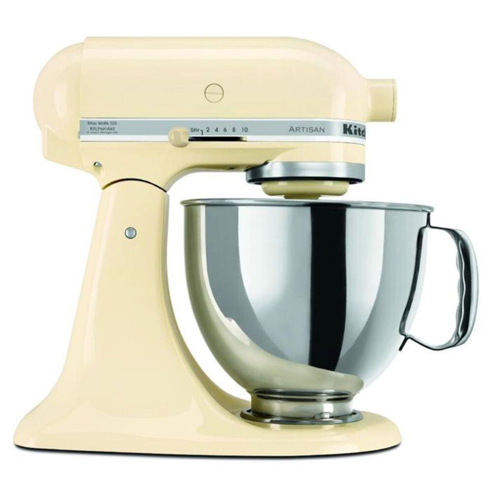 KitchenAid 5 Quart Artisan Stand Mixer in Almond, , large